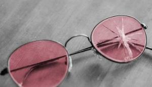 Cracked Rose Colored Glasses